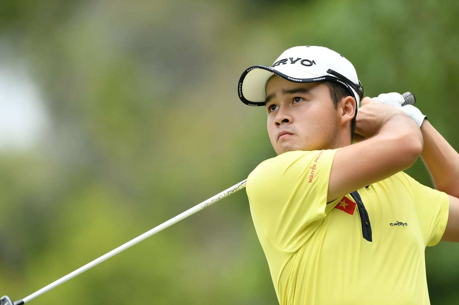 Nguyen Phuong Toan left a mark in Vietnamese golf history at SEA Games 29