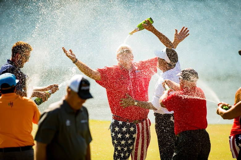 Injured shoulder forces John Daly to withdraw from U.S. Senior Open