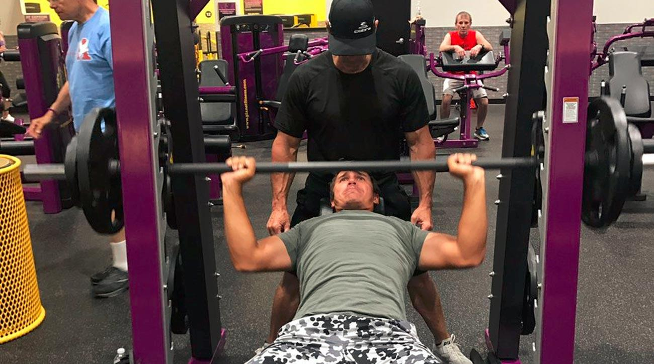 Brooks Koepka pumped serious iron in the gym hours before winning U.S. Open