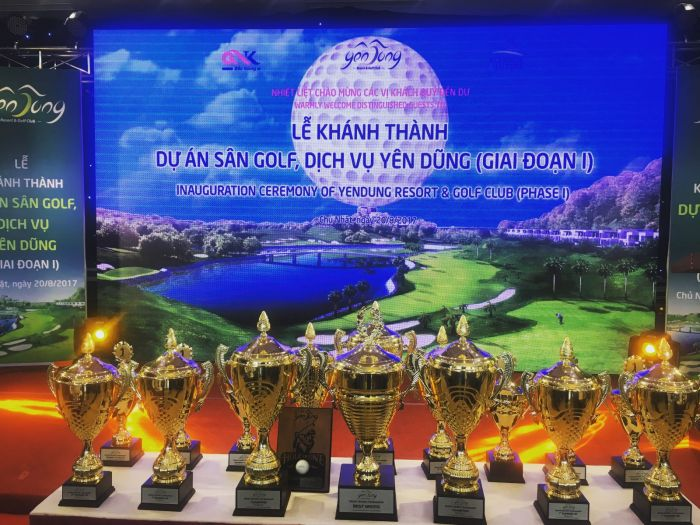 First phase of Yen Dung Resort & Golf Club project inaugurated