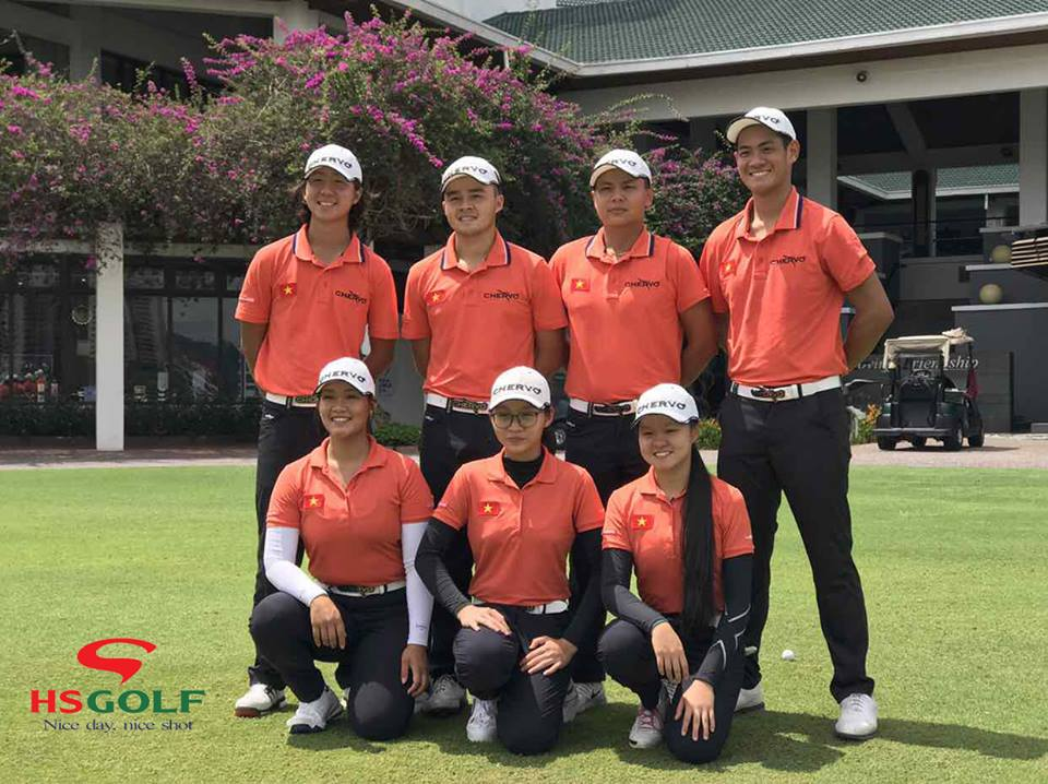 Vietnam national golf team - young talents to tee off at SEA Games
