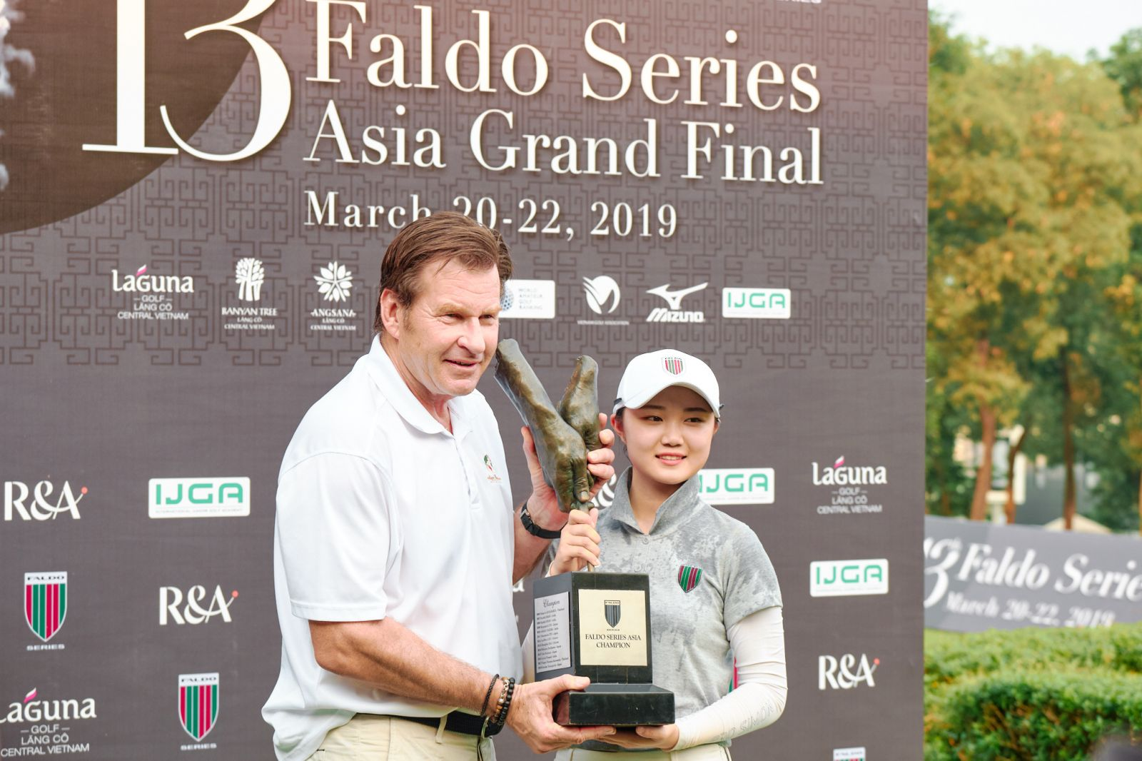 Chang Hsin-chiao victory at Faldo Series Asia Grand Final