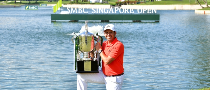 Sergio Garcia cruises to victory to Singapore Open 2018