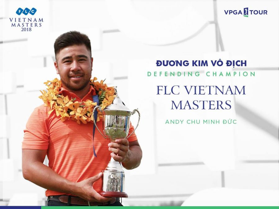 Andy Chu Minh Duc to defend title at FLC Vietnam Masters 2018