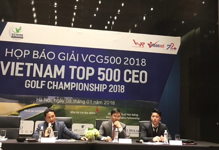 CEO golfers to tee off at first VCG500
