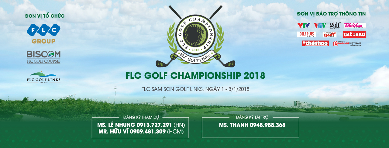 More than 1,000 golfers will participate in the FLC C'ship 2018