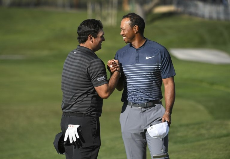 Tiger Woods assures Patrick Reed he's already locked up 2019 Presidents Cup bid