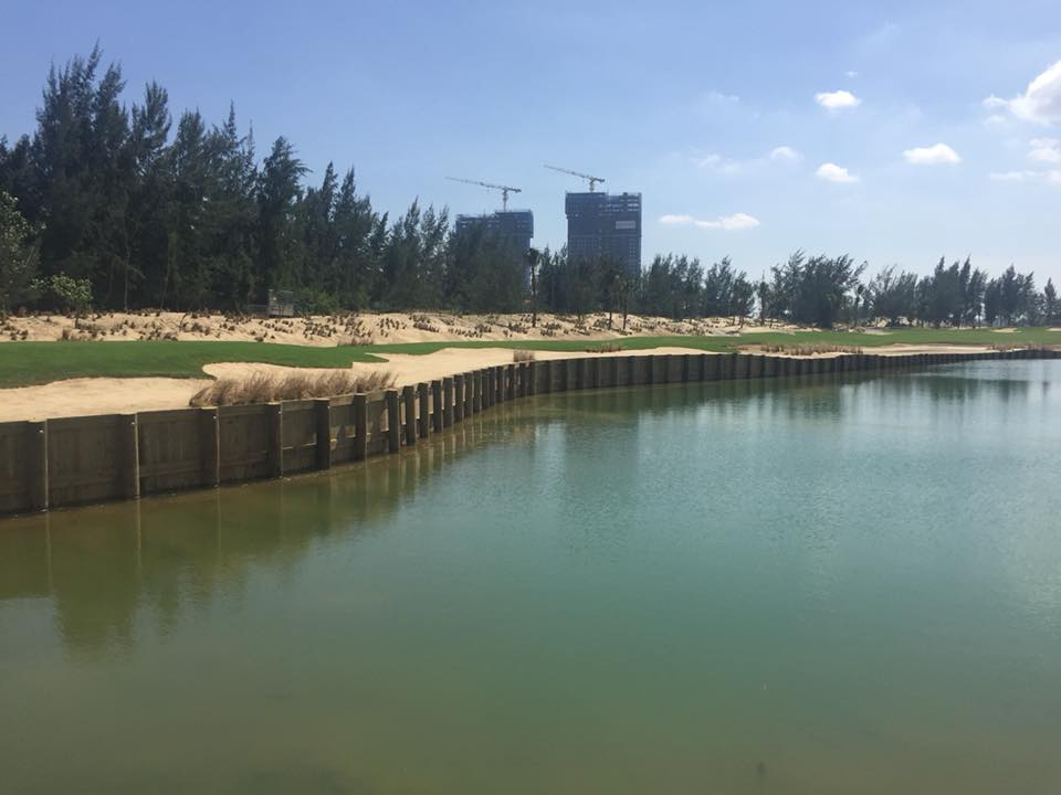 Vietnam's first bulkhead style golf course will be opened on April 4