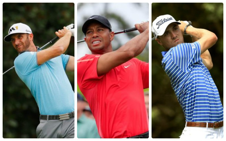 Woods grouped with DJ, Thomas at U.S. Open