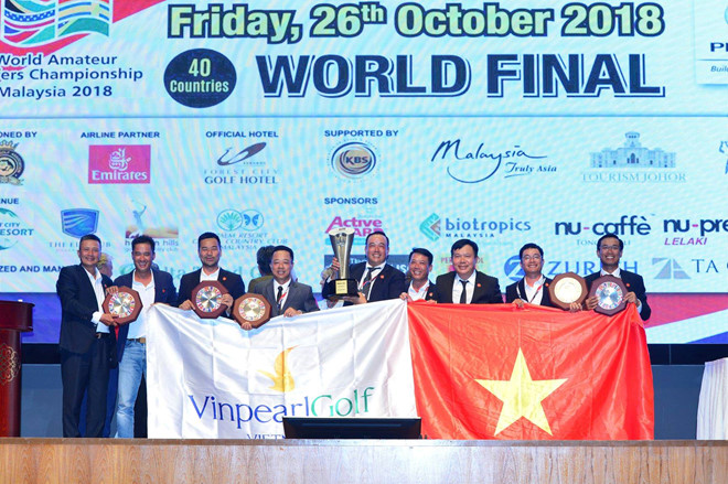 Vietnam triumph WAGC for second straight year